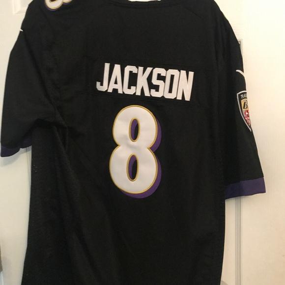 online store f38d0 b4384 Baltimore Ravens Lamar Jackson Jersey